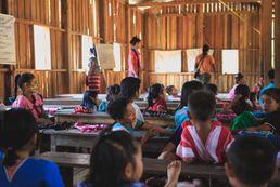 Parc d'éducation pour enfant