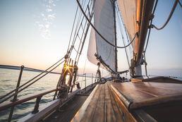 Comptoir maritime à la voile